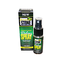 1 x Jamaican Stone Delay Spray  = 1 Month Supply